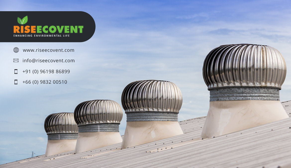 riseecovent-Wind-driven ventilators